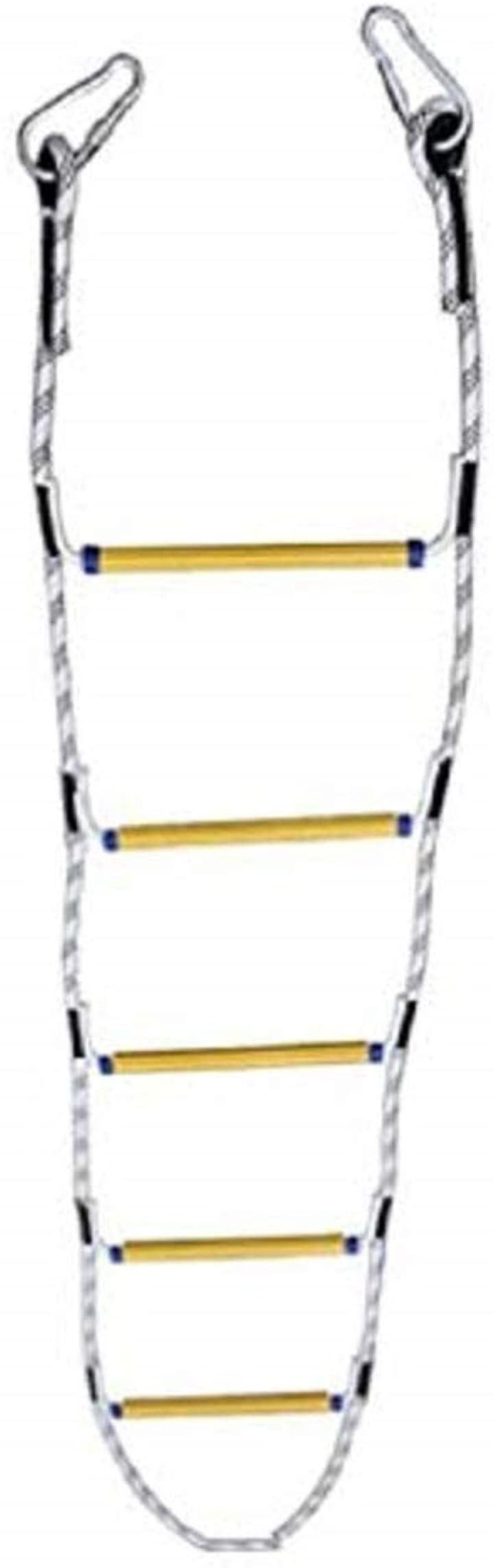 クライミングロープ 多機能 大人 子供用 縄梯子 救難 救援 緊急対応 ナイロンロープ はしご避難はしご スポーツロープ ラダーロープ 体力づくり