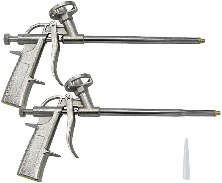GREE-S発泡ウレタンガン 2本セット コーキングガン フォームガン スプレー式 耐久性 穴埋め 断熱材
