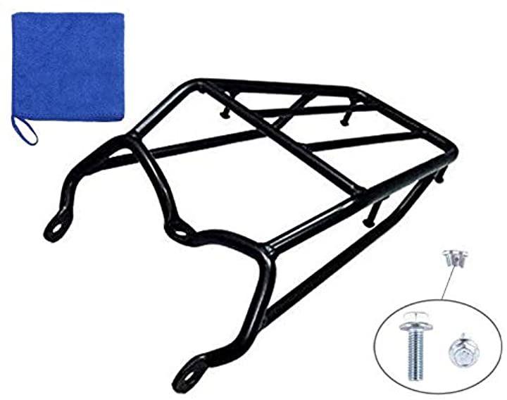 グラストラッカー ビッグボーイ リア キャリア スチール製 荷台ラック リヤキャリア ブラック
