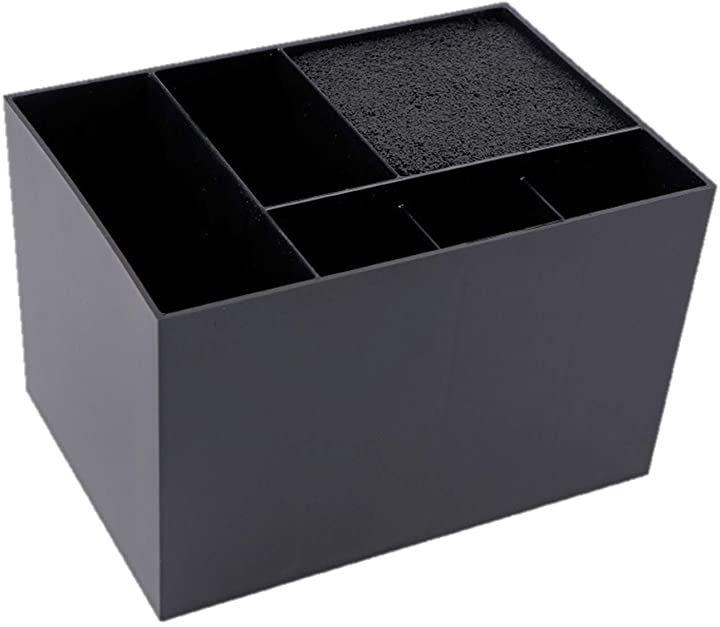 シザーキューブ シザーケース シザースタンド ハサミ 収納 美容師(ブラック)
