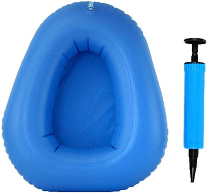 ポータブルトイレ ポンプ 空気入れ 尿瓶 携帯 折りたたみ コンパクト エアクッション 介護 非常用