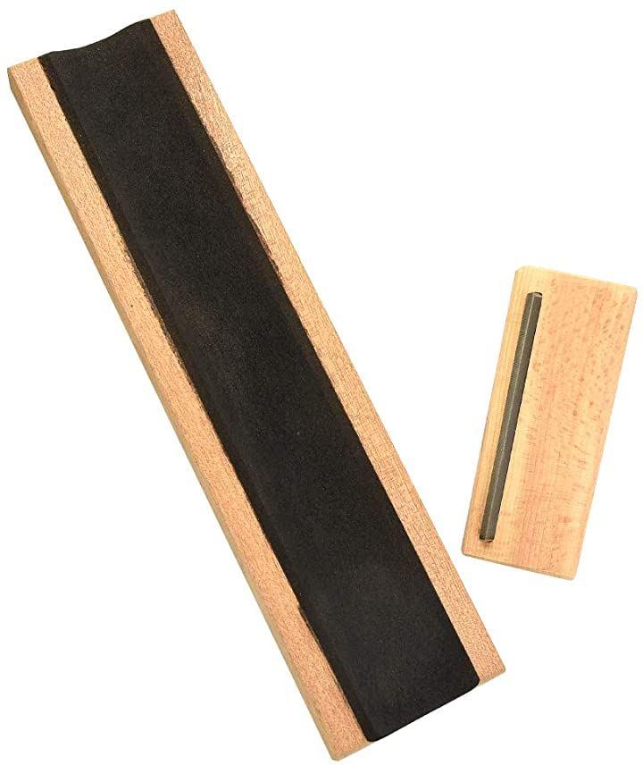 AINetJP ギター メンテナンスキット アコースティックギター サポーターボード フレット 面取り エッジ切削