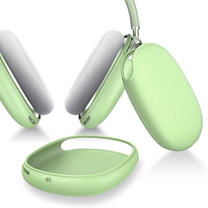Ztotop 保護カバー AirPods Max 対応 シリコンケース ソフト スリム シリコン保護ケース(グリーン)