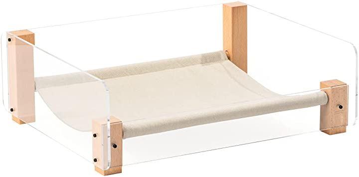 猫 ベッド ペットベッド レクタングル 洗える 木製 ベットタイプ(ベットタイプ)