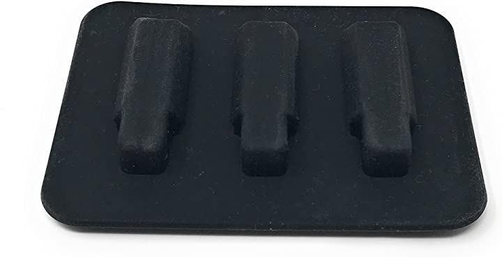 アコギ 練習用 ミュート パッド アコースティック ギター 消音(黒)