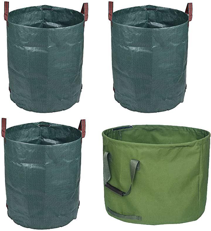 ガーデンバッグ ガーデンバケツ ガーデニング用品収納 4個セット 収納袋 ガーデニング/園芸/農業用品