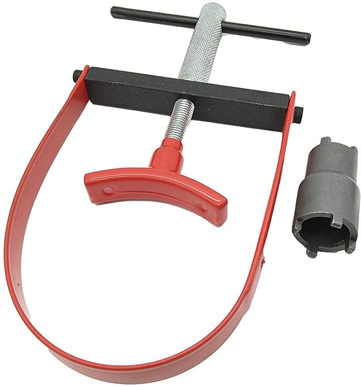 オートバイ用 クラッチロックナットレンチ U字型 プーリーホールドレンチ 回転防止 特殊工具 2点セット